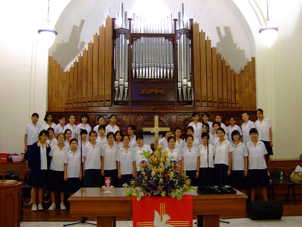 chinese choir & organ