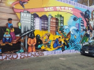 Community Mural, Used by Permission from Lil Milagro Henriquez