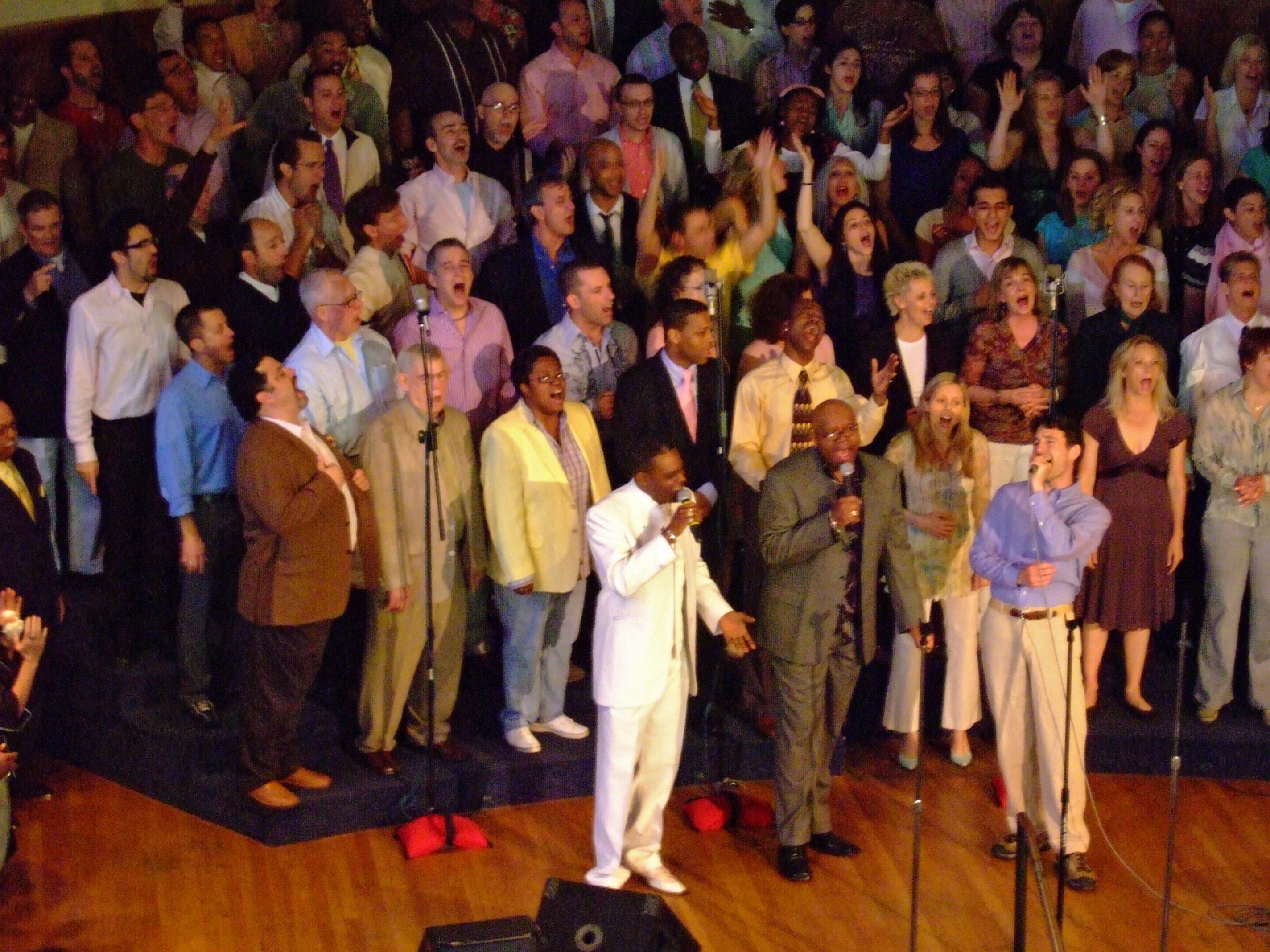 congregation&singers